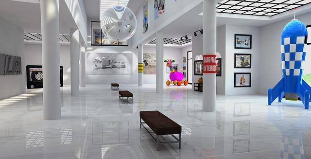 výstava v galerii