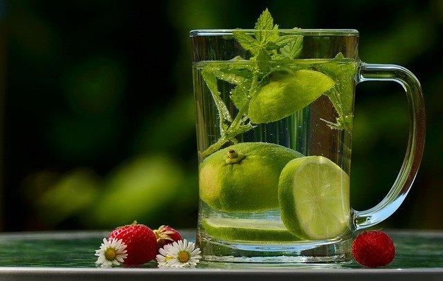 detoxickační nápoj