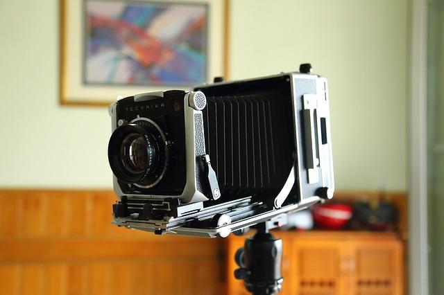 starý fotoaparát
