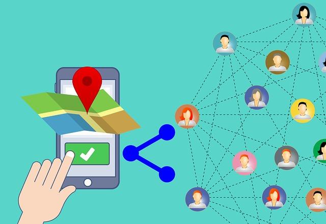 ilustrace sledování přes GPS