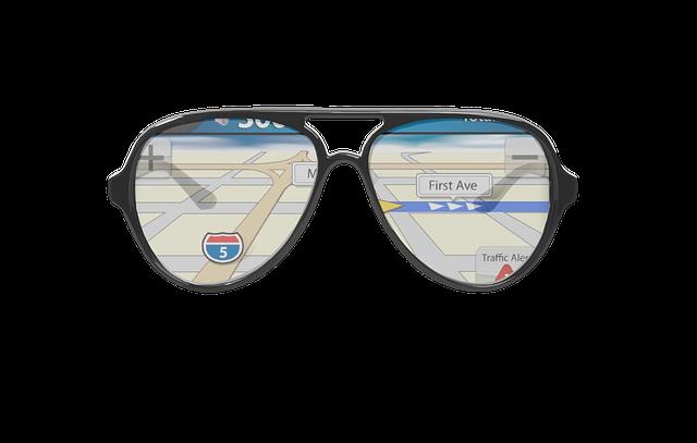 brýle s GPS